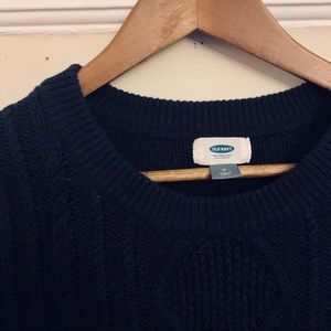 Cable Crewneck Sweater from Old Navy